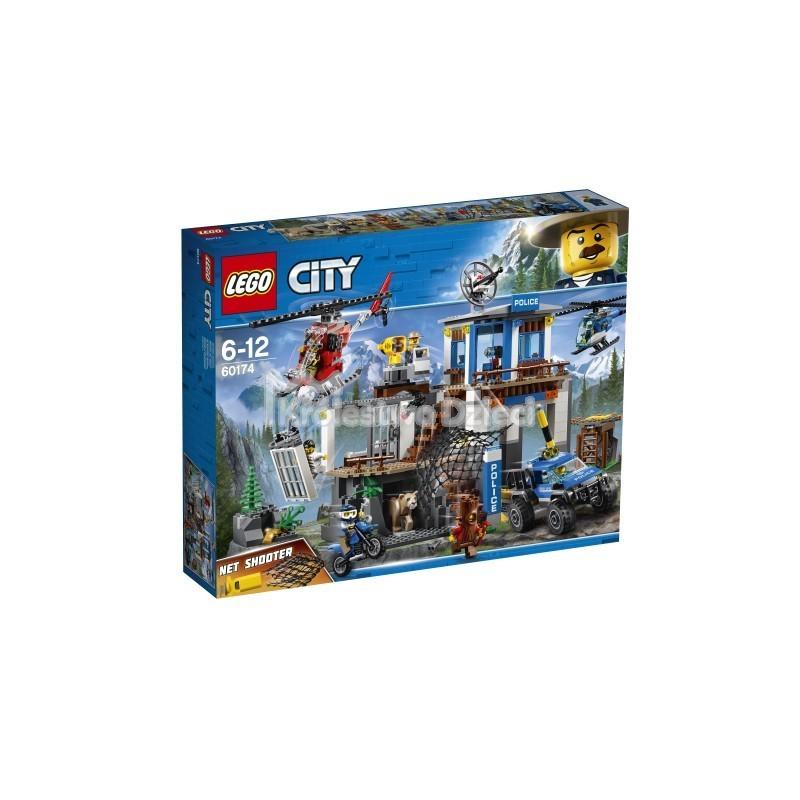 Lego City Górski Posterunek Policji 60174 Królestwo Dzieci