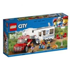 LEGO® - CITY - PICKUP Z PRZYCZEPĄ - 60182