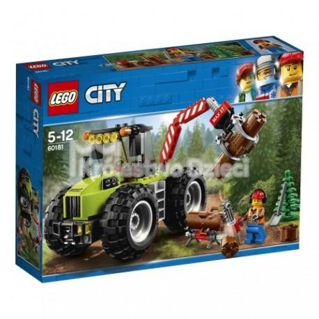 Lego City Traktor Leśny 60181 Królestwo Dzieci