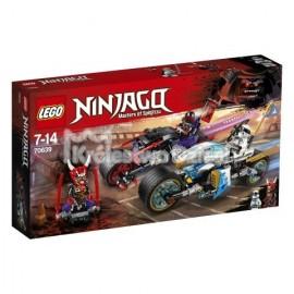 LEGO® - NINJAGO® - WYŚCIG ULICZNY WĘZOWEGO JAGUARA - 70639