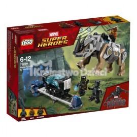 LEGO® - MARVEL SUPER HEROES - POJEDYNEK Z NOSOROŻCEM W POBLIŻU KOPALNI - 76099