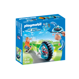 PLAYMOBIL - SPORTS & ACTION - NIEBIESKI SPEED ROLLER BLUE - 9204