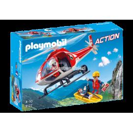 PLAYMOBIL - ACTION - HELIKOPTER RATOWNICTWA GÓRSKIEGO - 9127