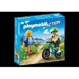 PLAYMOBIL - ACTION - TURYŚCI W GÓRACH - 9129
