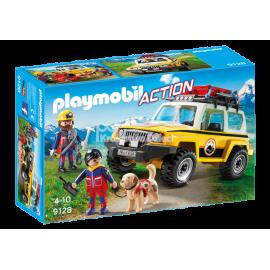 PLAYMOBIL - ACTION - POJAZD RATOWNICTWA GÓRSKIEGO - 9128