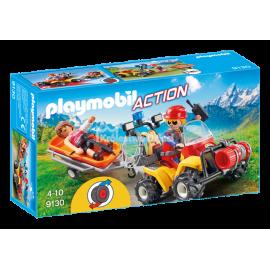 PLAYMOBIL - ACTION - QUAD RATOWNICTWA GÓRSKIEGO - 9130