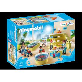 PLAYMOBIL - FAMILY FUN - SKLEPIK W OCEANARIUM - 9061