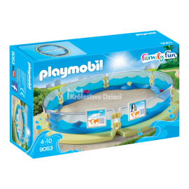 PLAYMOBIL - FAMILY FUN - BASEN DLA FAUNY MORSKIEJ - 9063