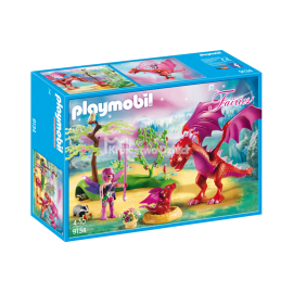 PLAYMOBIL - FAIRIES - SMOCZA MAMA ZE SMOCZĄTKIEM - 9134