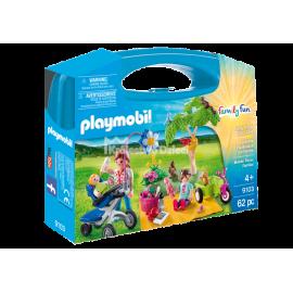 PLAYMOBIL - FAMILY FUN - SKRZYNECZKA - RODZINNY PIKNIK - 9103