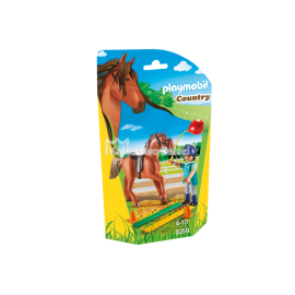 PLAYMOBIL - COUNTRY - TERAPEUTKA KONI - 9259