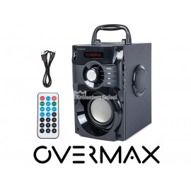 OVERMAX - GŁOŚNIK BEZPRZEWODOWY - SOUNDBEAT 2.0 - CZARNY - USB SD AUX RADIO - 2720