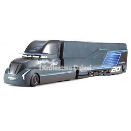 MATTEL - CARS 3 - AUTA - JACKSON SZTORM - TRANSPORTER - ZESTAW - FCW00