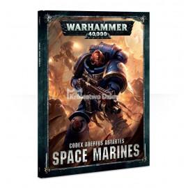 WARHAMMER 40,000 - CODEX - SPACE MARINES - KSIĄŻKA - TWARDA OPRAWA - ENG - 48-01-60