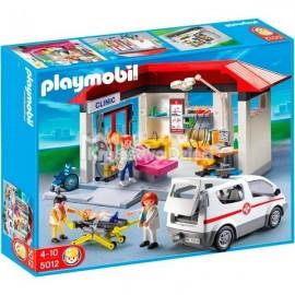 PLAYMOBIL - CITY LIFE - POGOTOWIE RATUNKOWE - 5012