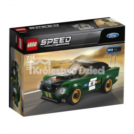 LEGO® - SPEED CHAMPIONS - FORD MUSTANG FASTBACK Z 1968 R. - 75884