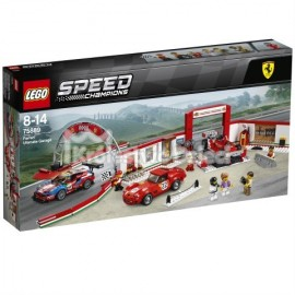 LEGO® - SPEED CHAMPIONS - REWELACYJNY WARSZTAT FERRARI - 75889