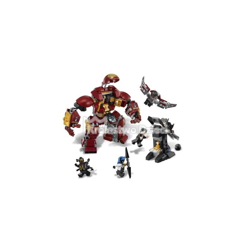 Lego Marvel Super Heroes Walka W Hulkbusterze 76104