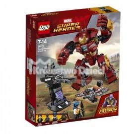 LEGO® - MARVEL SUPER HEROES - WALKA W HULKBUSTERZE - 76104