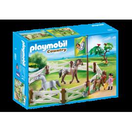 PLAYMOBIL - COUNTRY - WYBIEG DLA KONIA - 6931