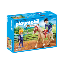PLAYMOBIL - COUNTRY - TRENING WOLTYŻERKI - 6933