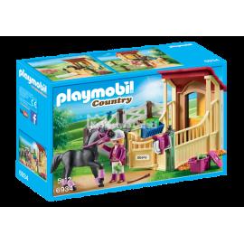 PLAYMOBIL - COUNTRY - BOKS STAJENNY - ARABER - 6934