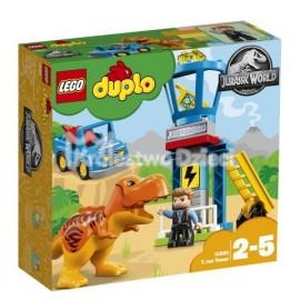 LEGO® - DUPLO® - JURASSIC WORLD™ - WIEŻA TYRANOZAURA - 10880