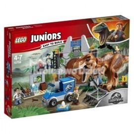 LEGO® - JUNIORS - JURASSIC WORLD™ - T. REX NA WOLNOŚCI - 10758