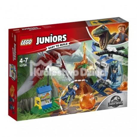 LEGO® - JUNIORS - JURASSIC WORLD™ - UCIECZKA PRZED PTERANODONEM - 10756