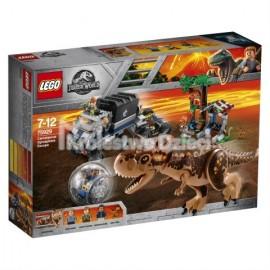 LEGO® - JURASSIC WORLD™ - UCIECZKA PRZED KARNOTAUREM - 75929