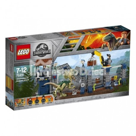 LEGO® - JURASSIC WORLD™ - ATAK DILFOZAURA NA POSTERUNEK - 75931