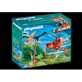 PLAYMOBIL - THE EXPLORER - HELIKOPTER Z PTERODAKTYLEM - 9430