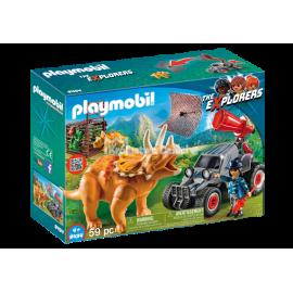 PLAYMOBIL - THE EXPLORER - SAMOCHÓD TERENOWY Z DZIAŁAJĄCĄ WYRZUTNIĄ - 9434