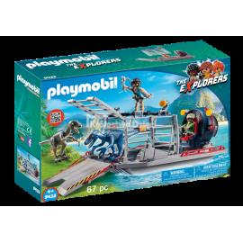 PLAYMOBIL - THE EXPLORERS - ŁÓDŹ ŚMIGŁOWA Z KLATKĄ - 9433