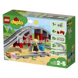 LEGO® - DUPLO® - TORY KOLEJOWE I WIADUKT - 10872