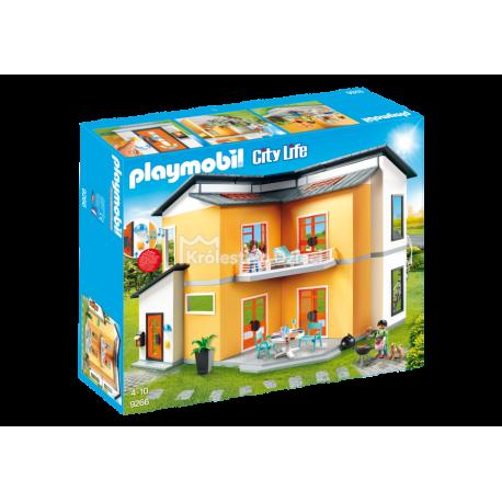 PLAYMOBIL - CITY LIFE - NOWOCZESNY DOM - ŚWIATŁO DŹWIĘK - 9266