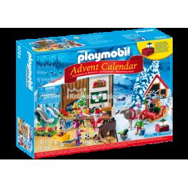 PLAYMOBIL - CHRISTMAS - KALENDARZ ADWENTOWY - PRACOWNIA ŚWIĘTEGO MIKOŁAJA - 9264