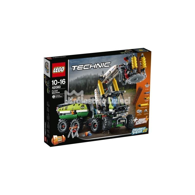 Lego Technic Maszyna Leśna 42080 Królestwo Dzieci