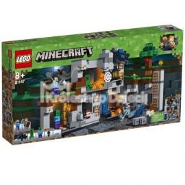 LEGO® - MINECRAFT™ - PRZYGODY NA SKALE MACIERZYSTEJ - 21147