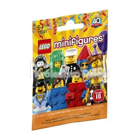 LEGO® - MINIFIGURES - MINIFIGURKA 1 SZT. - SERIA 18 - IMPREZA - 71021