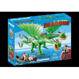 PLAYMOBIL - DRAGONS - SZPADKA I MIECZYK Z JOT&WYM - 9458