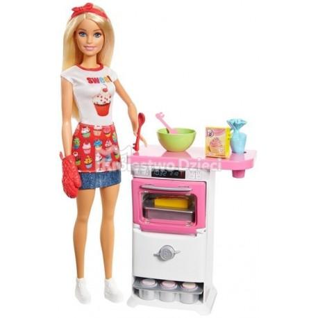 Mattel Barbie Zestaw Domowe Wypieki Lalka Fhp57 Krolestwo