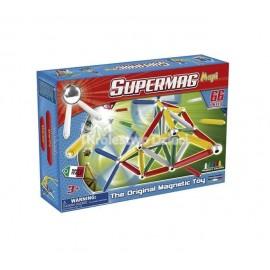 PLASTWOOD - SUPERMAG - KLOCKI MAGNETYCZNE - MAXI CLASSIC - 66 EL. - 0103