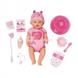BABY BORN - LALKA INTERAKTYWNA - DZIEWCZYNKA - SOFT TOUCH - 824368