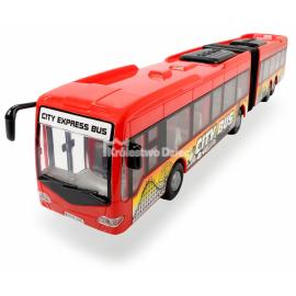 DICKIE - AUTOBUS - CITY EXPRESS BUS - CZERWONO-ŻÓŁTY - 49989