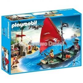 PLAYMOBIL - PIRATES - WALKA O ZŁOTY SKARB - 5646