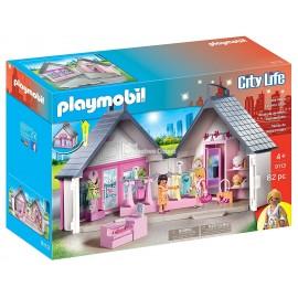 PLAYMOBIL - CITY LIFE - PRZENOŚNY BUTIK - 9113