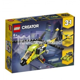 LEGO® - CREATOR - PRZYGODA Z HELIKOPTEREM - 31092