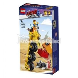 LEGO® PRZYGODA 2™ LEGO MOVIE 2™ - TRÓJKOŁOWIEC EMMETA - 70823