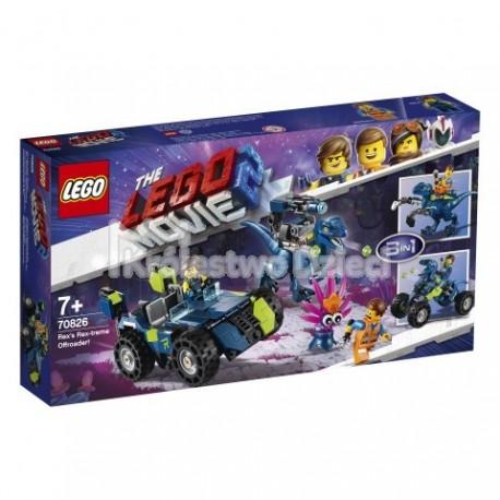 LEGO® PRZYGODA 2™ LEGO MOVIE 2™ - TERENÓWKA REXA - 70826